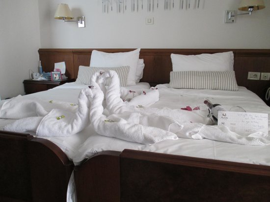 Avra City Hotel : The hotel's gift for our Wedding Anniversary and the writer's Birthday!