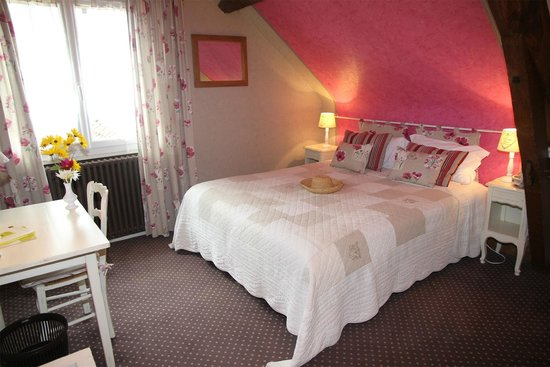 Chambre rose  Picture of Hotel La Sauldraie, Salbris  TripAdvisor