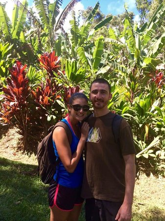 Hike Maui: When the hike was starting