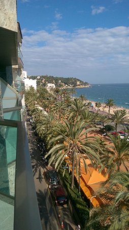 Hotel Miramar: view from the balcony