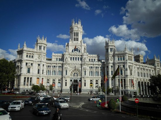 Terraza Cibeles In On The City Hall Building Picture Of