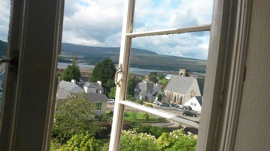 St. Andrews Guest House: Vista dalla nostra camera