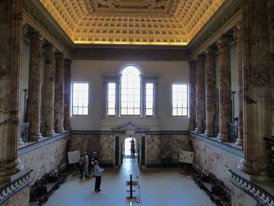 Holkham Hall: Entrance Hall