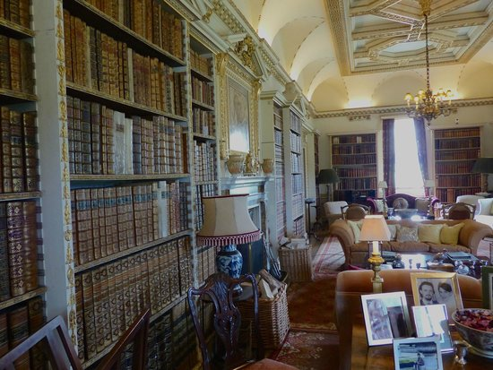Holkham Hall: The Library