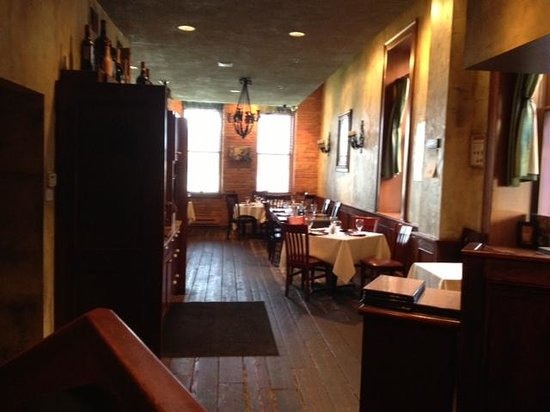 Pane vino dining room entrance picture of