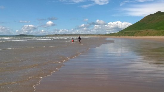 South Wales Personal Day Tours: Noel and my son, Gower