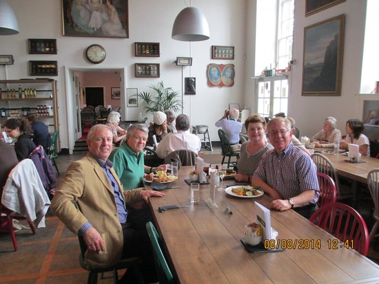 Afternoon Tea Tours: Lunch at Glamis Castle; Robert on the left