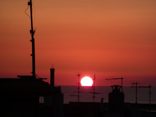 Andromaco Palace Hotel : Sonnenaufgang in Taormina