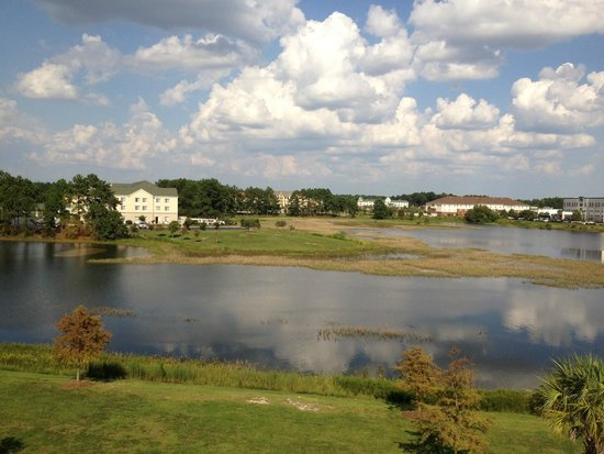 Hampton Inn & Suites Savannah Airport: View from top floor room