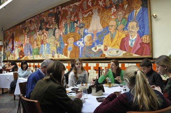 Foto de el mural de los poblanos puebla gusanos de for El mural de los poblanos