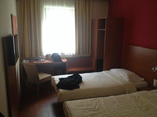 Star Inn Hotel Budapest Centrum, by Comfort: Habitación con dos camas