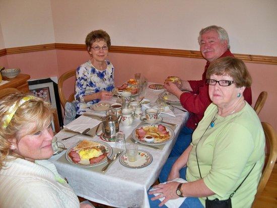 Blarney Vale Bed and Breakfast: Breakfast at Blarney Vale