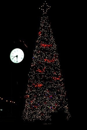Christmas Tree in Downtown Jackson, Alabama - Picture of Jackson ...