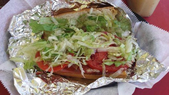 Mr Submarine & Salads Inc: Italian Sub 1/2 - Toasted