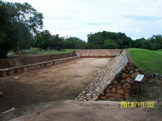 Xihuacan Museum and Archeological Site: Juego de Pelota     Tlaxtli