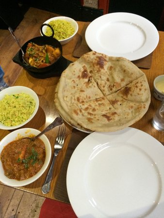 Solomons Dhaba: Very good portions!