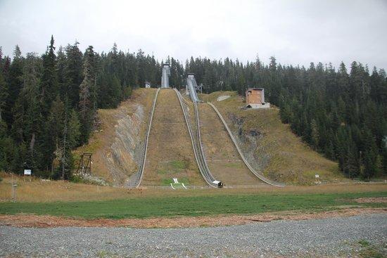 Skisprungschanzen im Whistler Olympic Park