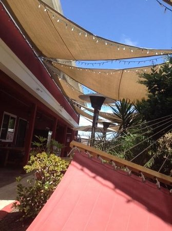 Hostelling International San Diego, Point Loma : relaxing in the hostel