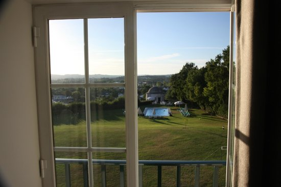 Pousada de Condeixa-Coimbra: Blick aus unserem Zimmer