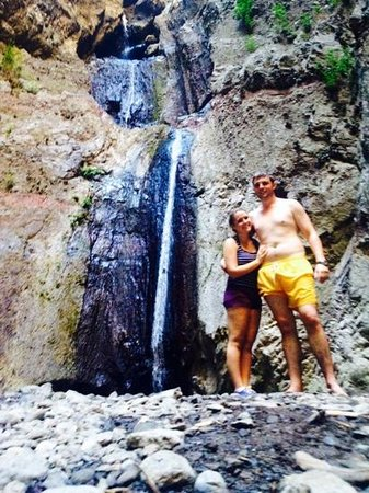 Barranco del Infierno: the waterfall - after 1hr 30 of walking :)