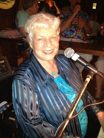 Mars Resort Restaurant & Bar : The legendary Pianist and Singer Joy Smith at Mars Piano Bar