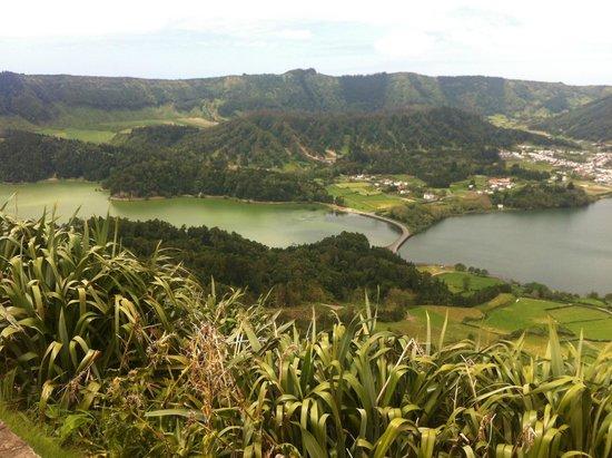 Lagoa Azul, Sao Miguel Acores: Lagoa Verde und Lagoa Azul