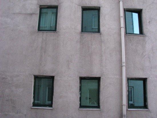 Adela Hotel: Uitzicht vanuit de kamer