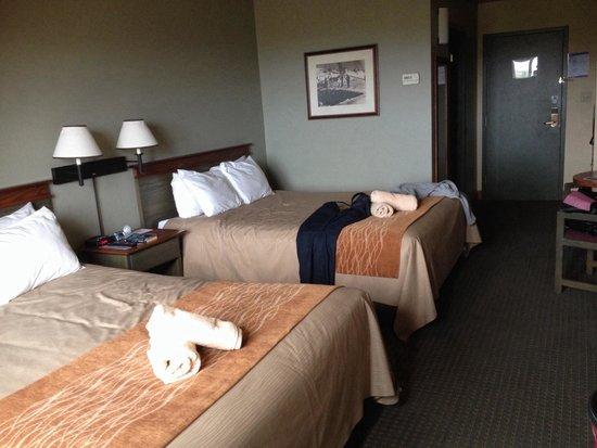 Comfort Inn & Suites: Comfort inn mont tremblant