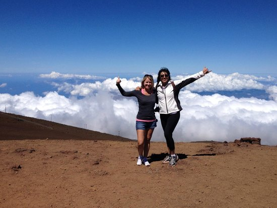 Maui Sunriders : At the summit - we are here!