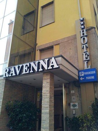 Hotel Ravenna : Esterno