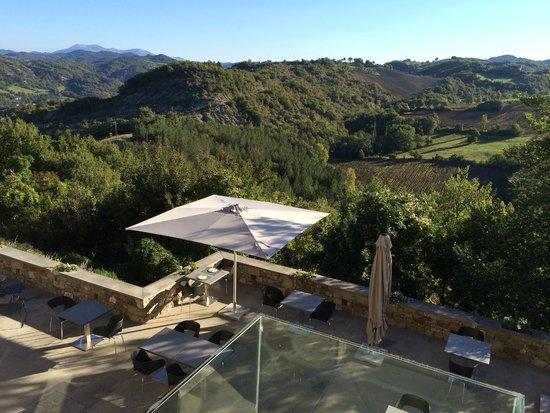Torre di Moravola: Table dressée pour le Petit Déjeûner