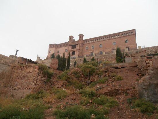 Hospederia Castillo Papa Luna : castillo palacio Papa Luna