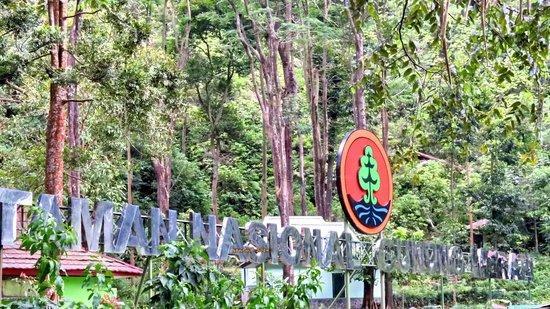 Kaliurang, Indonesia: The Huge Sign