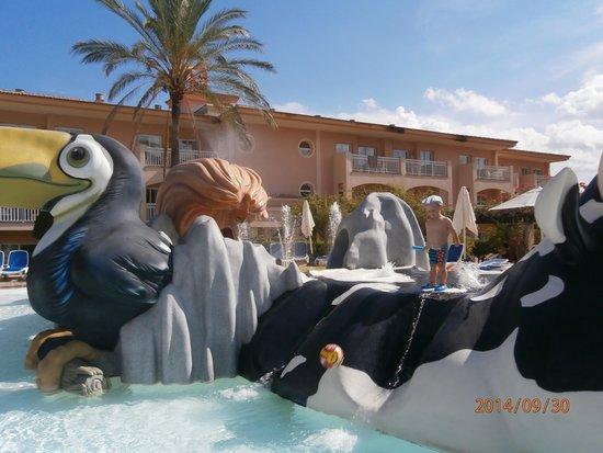 Aparthotel Playa Mar & Spa: kiddies splash pool