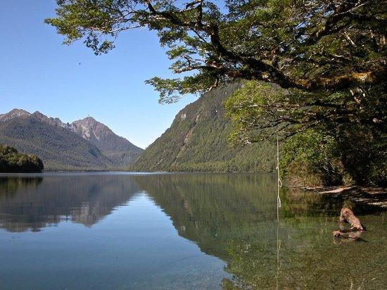 Mirror Lakes Walk : Lake Gunn