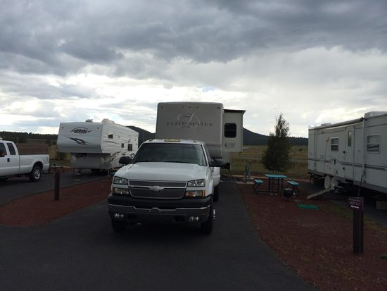 Grand Canyon Railway RV Park : Our camp :) with a view ...