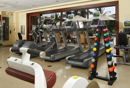 Wailea Beach Villas: WBVSig Shot Fitness Cardio E