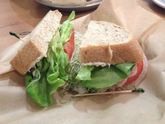Leoda's Kitchen and Pie Shop: Tuna Salad Sandwich
