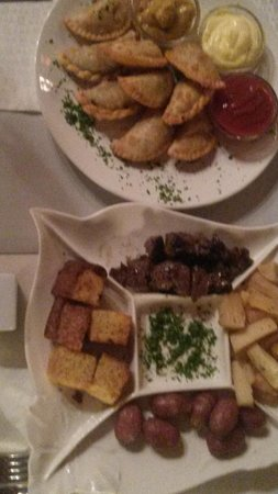 Assorted Mini Empanadas & La Paraguayita Platter at Gambini - Drinks & Snacks Menu