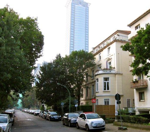 Hotel Villa Florentina: vista desde la calle