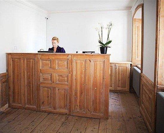 Hotel Hellstens Malmgard: Receptionen