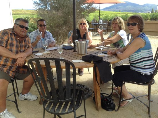 Judd's Hill Winery and MicroCrush: enjoying the wine