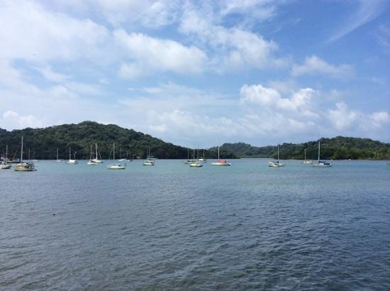 Captain Jack's Canopy Bar and Restaurant: Portobelo Bay