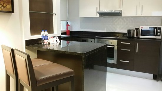 Kitchen Picture Of Residence Inn Manama Juffair Manama Tripadvisor