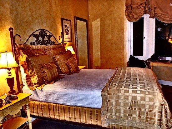 Hotel Sausalito : Bedroom