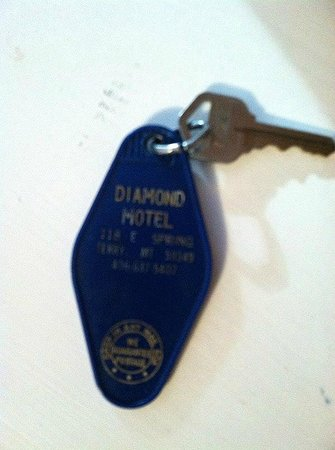 Diamond Motel : Room Key