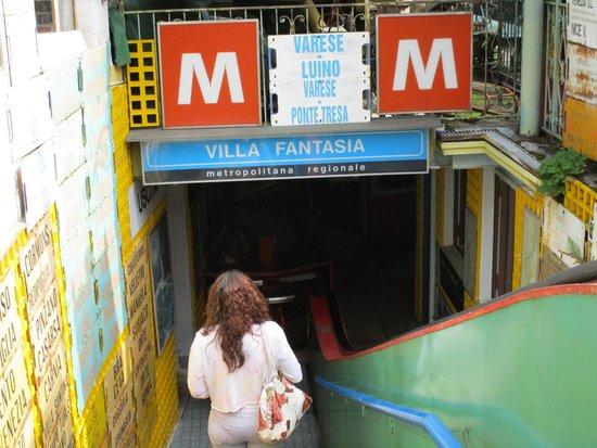 Museo Dei Trasporti Ogliari : metropolitana