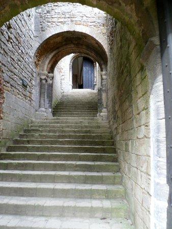 Castle Rising : Stairway