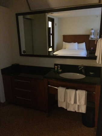 Hyatt Place Greensboro: Sink