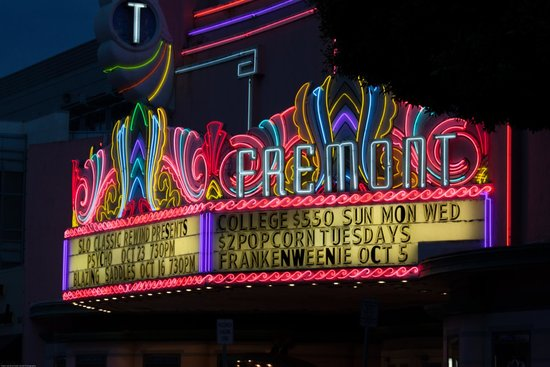 The Fremont Theater Neon Sign